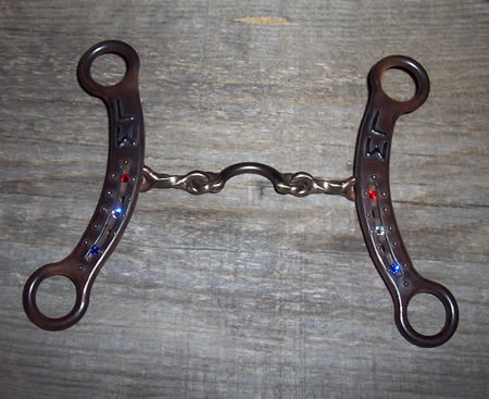 Barrel Racer bit by Scott ironworks