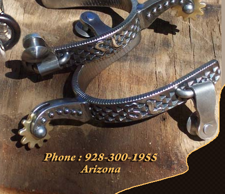 Scott Ironworks Custom Bits Spurs